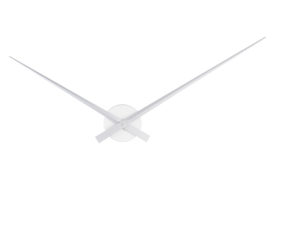 Wall Clock Little Big Time - Silver Karlsson Klok KA450055