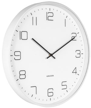 Wall Clock Lofty - White Karlsson Klok KA5751WH