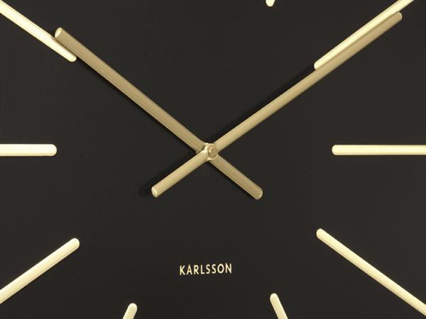 Wall Clock Maxiemus - Black Karlsson Klok KA5579BK