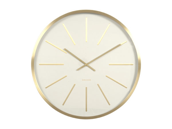 Wall Clock Maxiemus - White Karlsson Klok KA5579WH