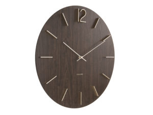 Wall Clock Meek - Dark wood Karlsson Klok KA5697DW