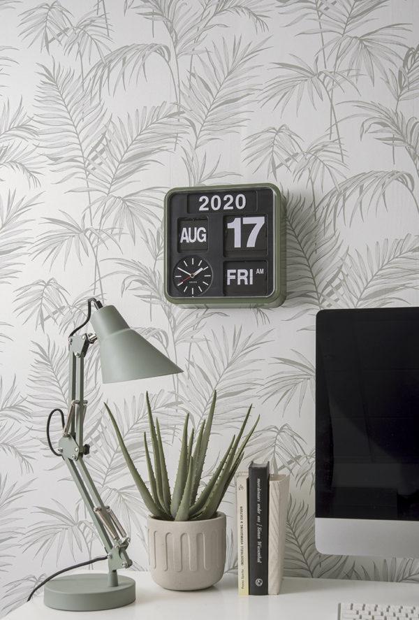 Wall Clock Mini Flip - Green Karlsson Klok KA5364GR