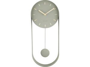 Wall Clock Pendulum Charm - Jungle green Karlsson Klok KA5822DG