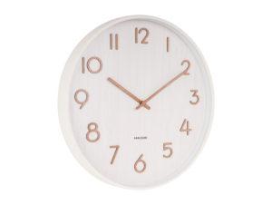 Wall Clock Pure Large - White Karlsson Klok KA5810WH