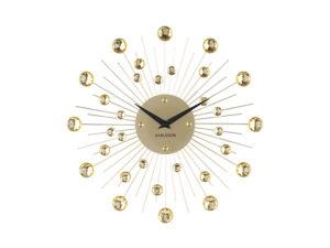 Wall Clock Sunburst Medium - Gold Karlsson Klok KA4860
