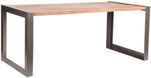 LABEL51 Eetkamertafel Factory - Rough - Mangohout - 160x90 cm Rough Eettafel