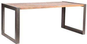 LABEL51 Eetkamertafel Factory - Rough - Mangohout - 240x100 cm Rough Eettafel