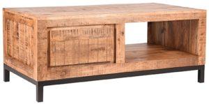 LABEL51 Salontafel Ghent - Rough - Mangohout - 110x60 cm Rough Salontafel