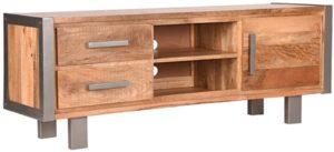 LABEL51 Tv-meubel Factory - Rough - Mangohout - 160 cm Rough Tv-meubel|Tv-dressoir