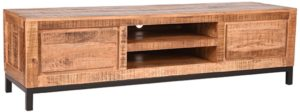 LABEL51 Tv-meubel Ghent - Rough - Mangohout - 160 cm Rough Tv-meubel|Tv-dressoir