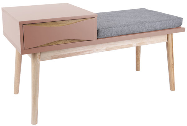 Bench Buoyant - Faded pink Leitmotiv Woonaccessoire LM1897PI