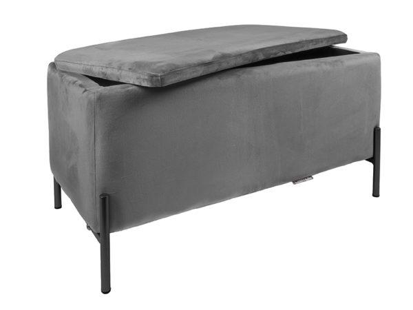 Bench Snog XL - Dark grey Leitmotiv Woonaccessoire LM1988DG