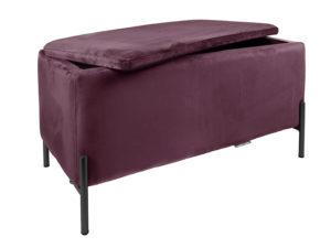 Bench Snog XL - Dark purple Leitmotiv Woonaccessoire LM1988PU