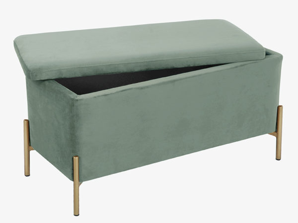 Bench Snog XL - Grayed jade Leitmotiv Woonaccessoire LM1947GR
