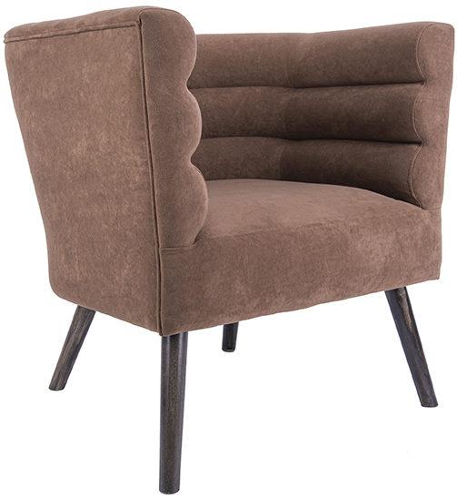 Chair Explicit - Chocolate brown Leitmotiv Woonaccessoire LM1929DB