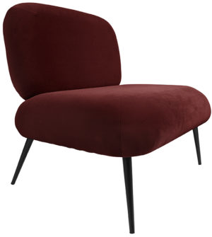 Chair Puffed - Clay brown Leitmotiv Woonaccessoire LM1963DB