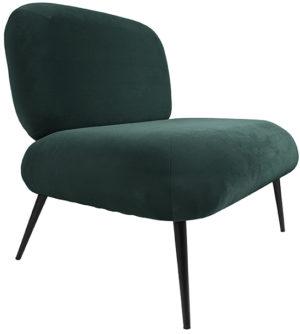 Chair Puffed - Dark green Leitmotiv Woonaccessoire LM1963GR