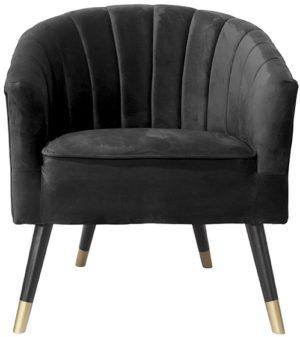Chair Royal - Black Leitmotiv Woonaccessoire LM1851BK