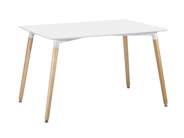 Dining Table Elementary - White Leitmotiv Woonaccessoire LM1839WH