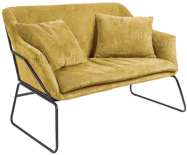 Sofa Glam - Curry yellow Leitmotiv Woonaccessoire LM1808