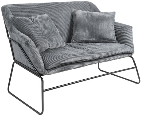 Sofa Glam - Dark grey Leitmotiv Woonaccessoire LM1894