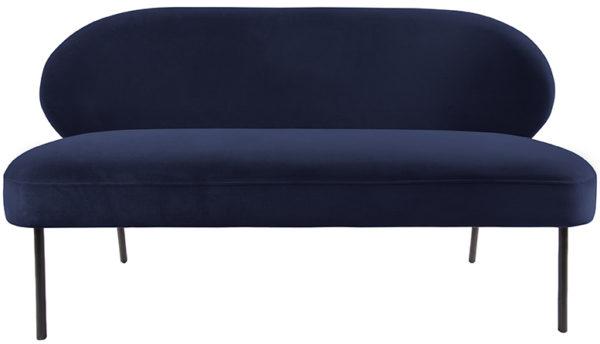 Sofa Puffed - Dark blue Leitmotiv Woonaccessoire LM1964BL