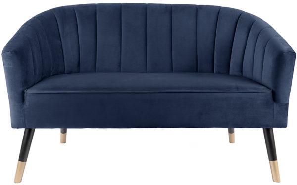 Sofa Royal - Dark blue Leitmotiv Woonaccessoire LM1852BL