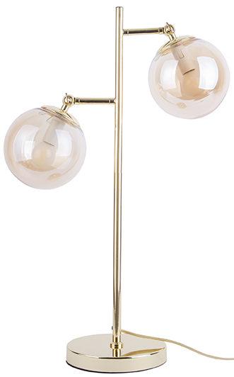 Table Lamp Shimmer - Dark wood Leitmotiv Woonaccessoire LM1913GD