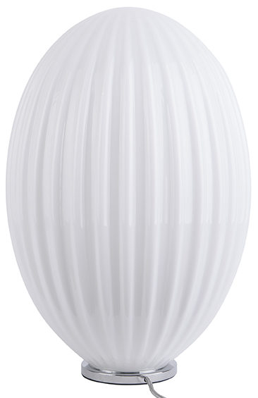 Table Lamp Smart Oval Large - White Leitmotiv Woonaccessoire LM1905WH
