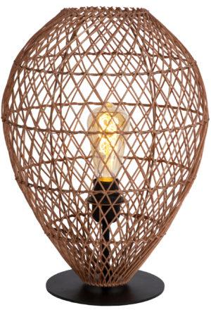 Kenjiro tafellamp - zwart Lucide Tafellamp 03539/01/44