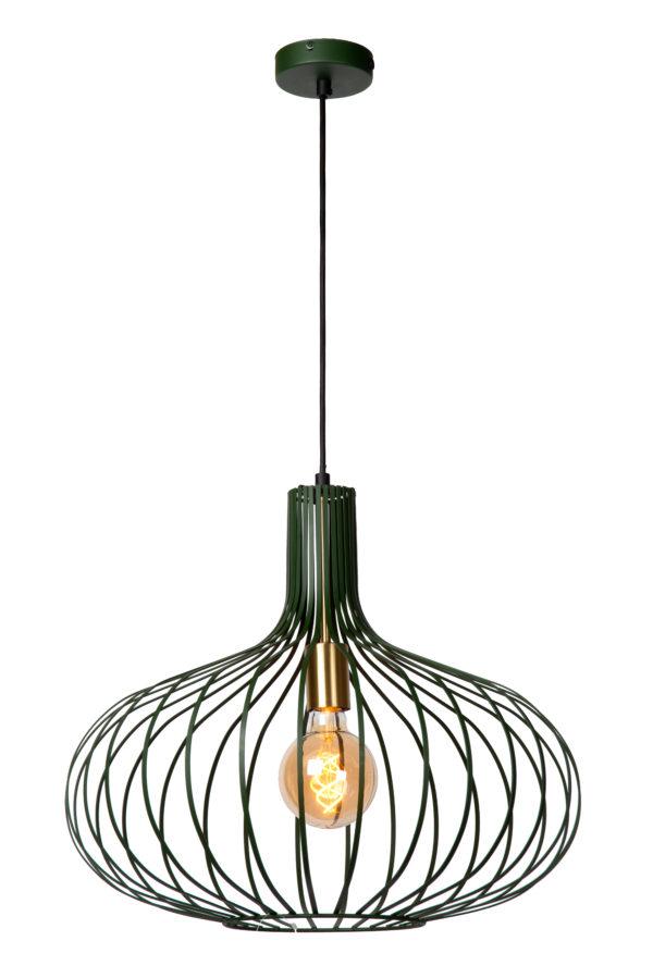 Manuela hanglamp - groen Lucide Hanglamp 78374/65/33