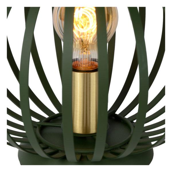 Manuela tafellamp - groen Lucide Tafellamp 78574/25/33