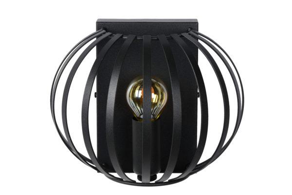 Manuela wandlamp - zwart Lucide Wandlamp 78274/01/30