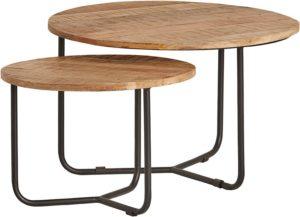 Centro ronde salontafel set van 2 - Best Seller Collection Nijwie Salontafel BSC.CT.0014