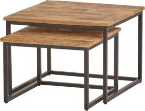 Cuba vierkante salontafel set van 2 medium - Best Seller Collection Nijwie Salontafel BSC.CT.0016