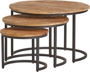 Mimi ronde salontafel set van 3 - Best Seller Collection Nijwie Salontafel BSC.CT.0012
