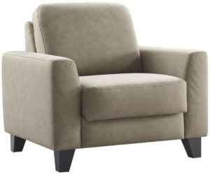 Pronto Wonen Fauteuil Mano polyether zitting taupe  Fauteuil
