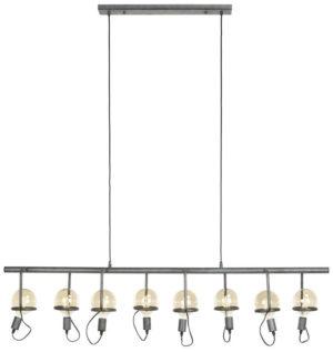 Pronto Wonen Hanglamp Tonillo circle oud zilver  Lamp
