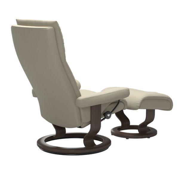 Stressless Aura Classic fauteuil met voetenbank Stressless Relaxfauteuil 13430150941511