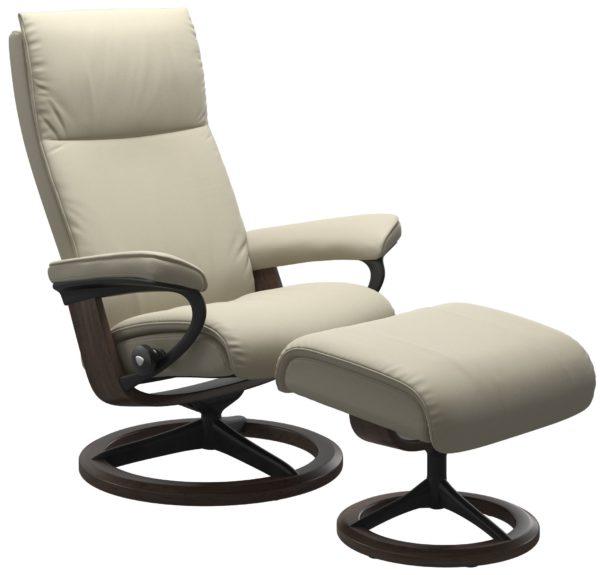 Stressless Aura Signature fauteuil met voetenbank Stressless Relaxfauteuil 1343315094154511