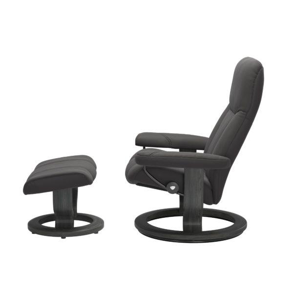 Stressless Consul Classic fauteuil met voetenbank Stressless Relaxfauteuil 10050150948008