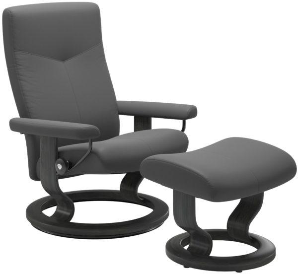 Stressless Dover Classic fauteuil met voetenbank Stressless Relaxfauteuil 13460150937908