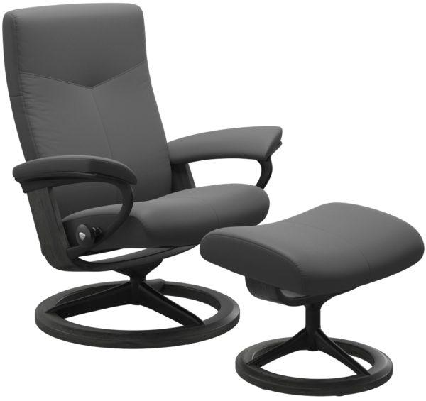 Stressless Dover Signature fauteuil met voetenbank Stressless Relaxfauteuil 1346315093794508