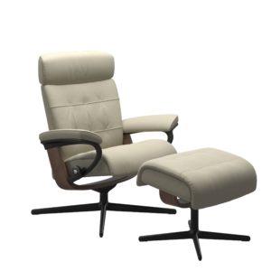 Stressless Erik Cross fauteuil met voetenbank Stressless Relaxfauteuil 1367317094154506