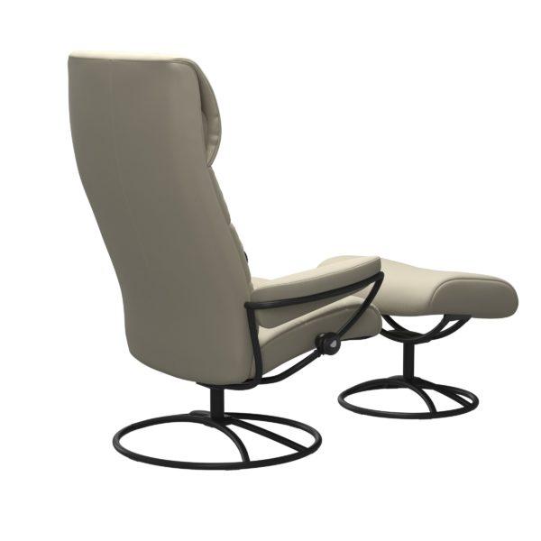 Stressless London Original hoog fauteuil met voetenbank Stressless Relaxfauteuil 13403650941545
