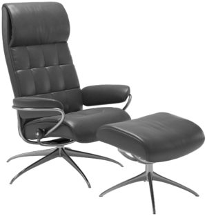 Stressless London Star hoog fauteuil met voetenbank Stressless Relaxfauteuil 13403450971240