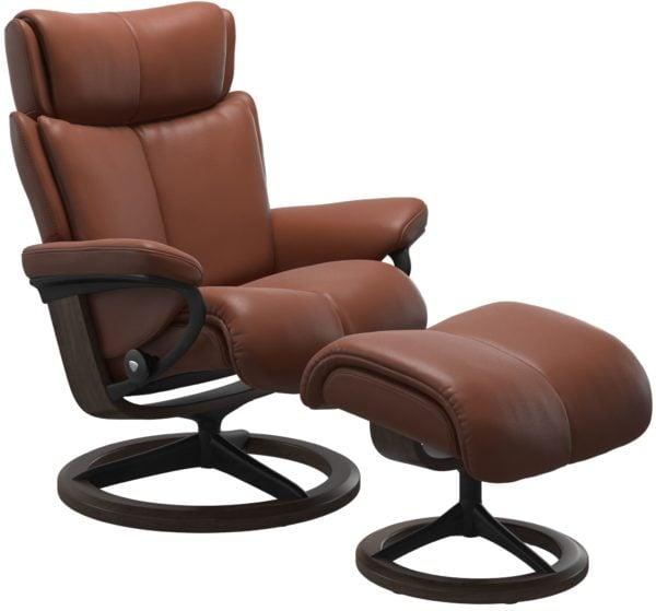 Stressless Magic Signature fauteuil met voetenbank Stressless Relaxfauteuil 1144315096344511