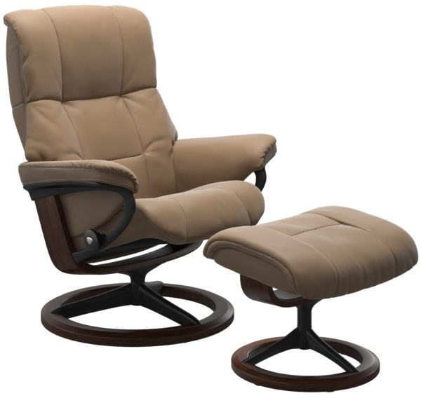 Stressless Mayfair (M) Signature fauteuil met voetenbank Stressless Relaxfauteuil 1731315094434503