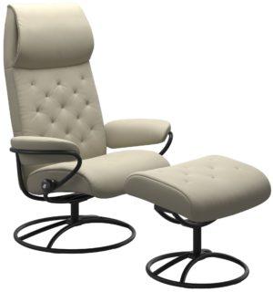 Stressless Metro Original hoog fauteuil met voetenbank Stressless Relaxfauteuil 12923650941545