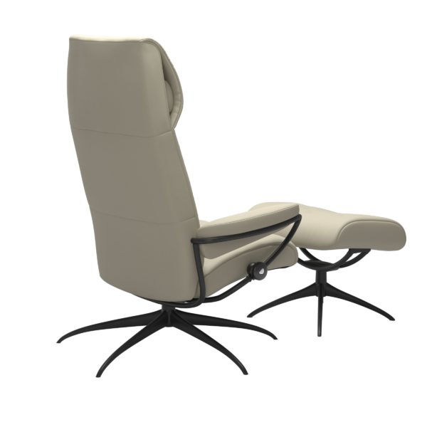 Stressless Metro Star hoog fauteuil met voetenbank Stressless Relaxfauteuil 12923450941545
